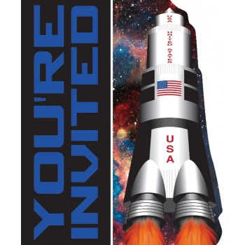 Innvitaciones Space Blast (8uds)