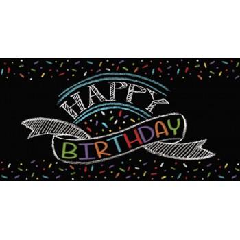 Mantel Chalk Birthday