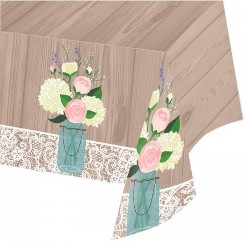 Mantel Rustic Wedding