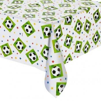 Mantel Plástico Fútbol  (1 ud)