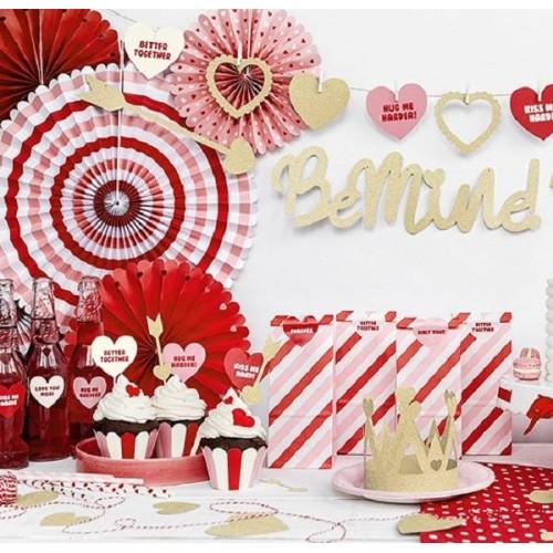 Abanicos sweet love (3 uds)