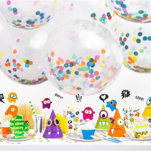 Globo Confeti Colores gigante m (1 ud)