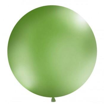 Globo Gigante Verde Pastel 1m (1 ud)