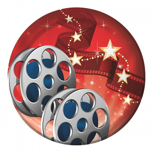 Platos 18cm Hollywood Lights (8 uds)