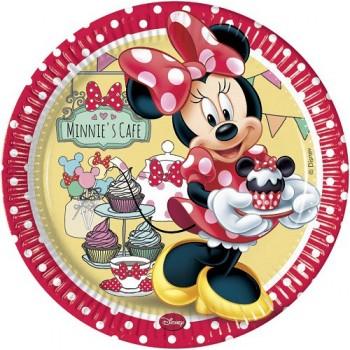Platos 23cm Minnie Café (8 uds)