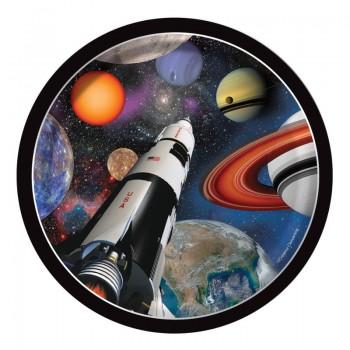 Platos 18cm Space Blast (8 uds)