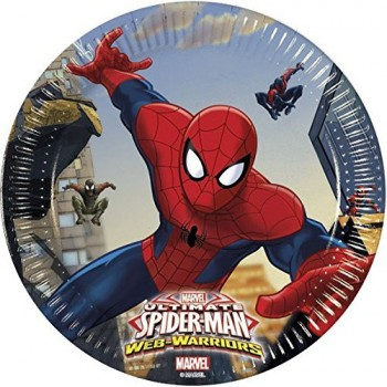 Platos 18cm Spiderman Ultimate (8 uds)