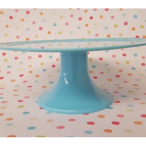 Soporte para tarta azul sky grande (1 ud)