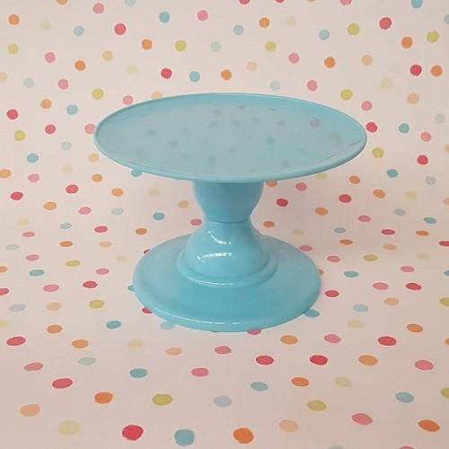 Soporte para tarta azul sky pequeño (1 ud)