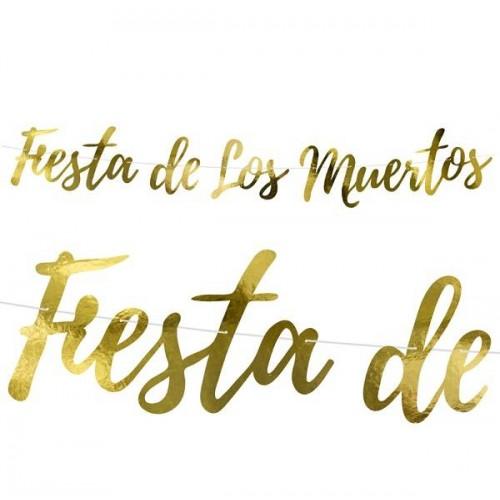 """Banner """"Fiesta de los Muertos"""" (1 ud)"""