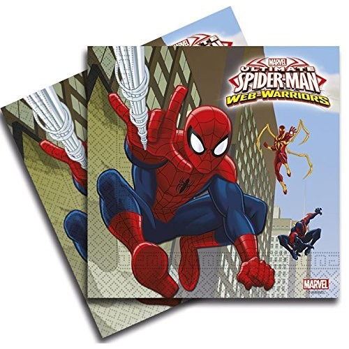 Servilletas Grandes Spiderman Ultimate (20 uds)