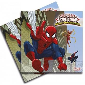 Servilletas Grandes Spiderman Ultimate (20 uds)