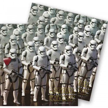 Servilletas Grandes Star Wars: The Force Awakens (20 uds)