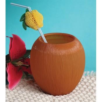 Vaso En Forma De Coco
