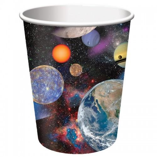 Vasos 250 ml Space Blast (8 uds)