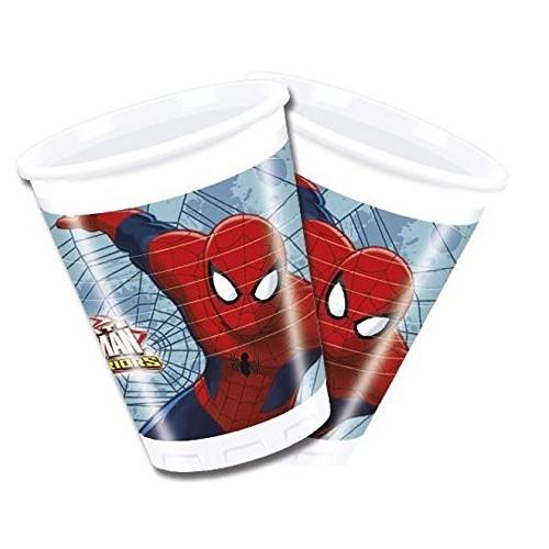 Vasos Spiderman Ultimate (8 uds)
