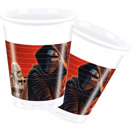 Vasos Star Wars: The Force Awakens (8 uds)