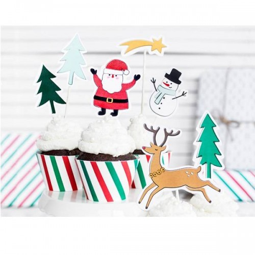 Topper Merry Xmas (7 uds)
