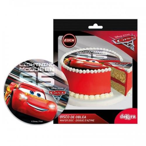 Disco de Oblea de Cars 3 (1 ud)