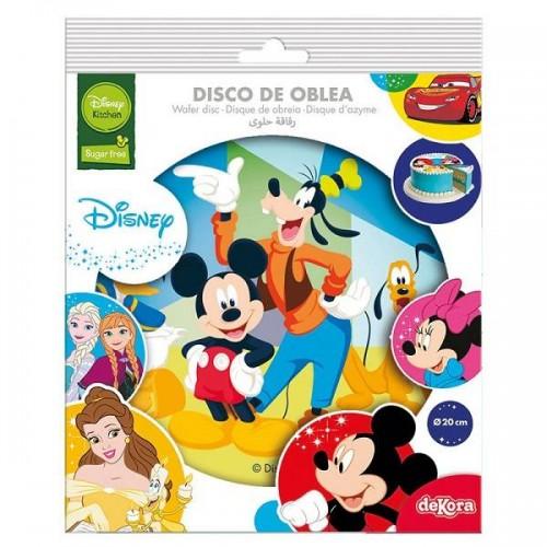 Disco de Oblea de Mickey y amigos (1 ud)