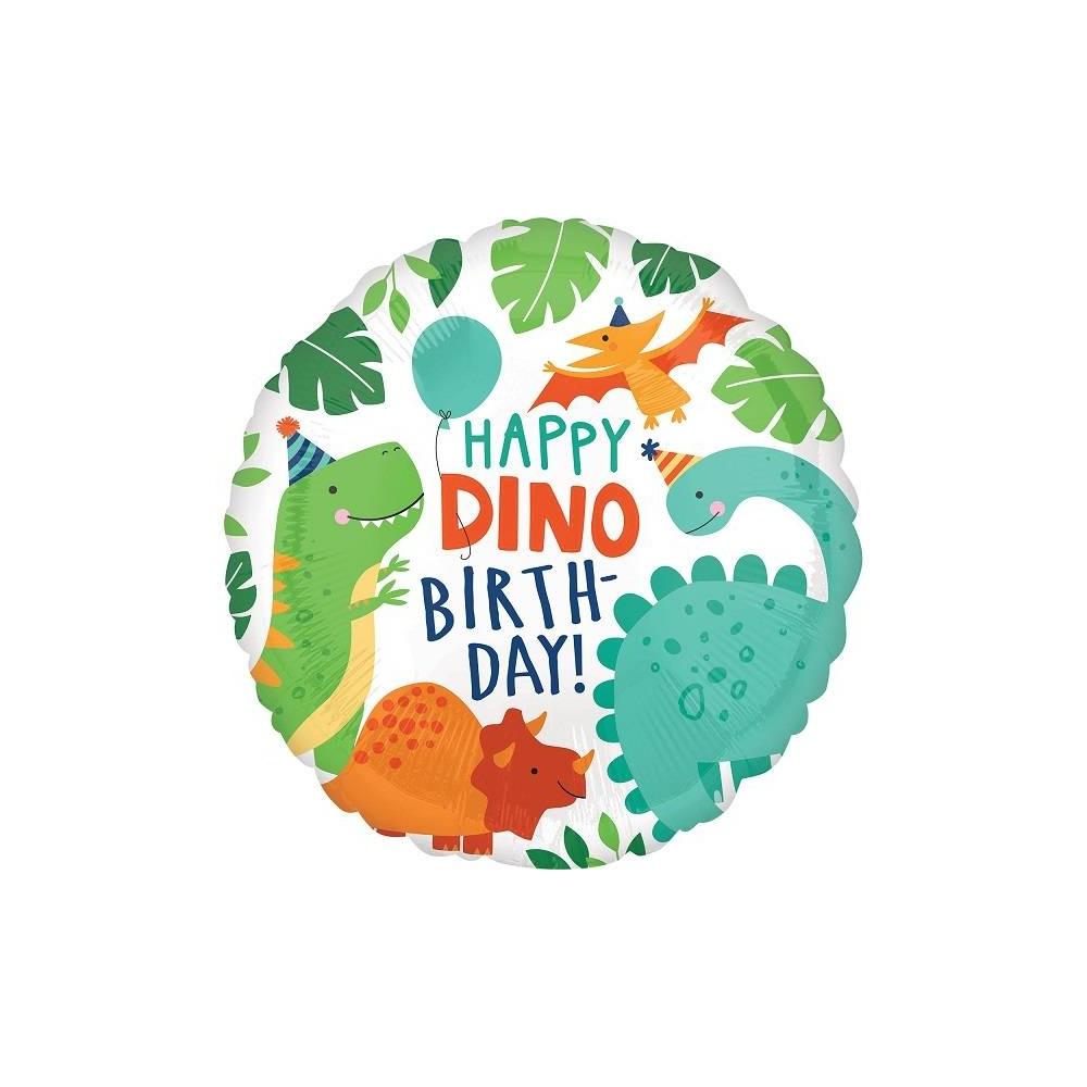 Comprar Globo Dinosaurio Precios Baratos ✅ te dejamos una larga lista para colorearlos e imprimirlos con guias y ¿cómo dibujar y colorear dibujos animados de dinosaurios infantiles? globo foil dinosaurio party 1 ud