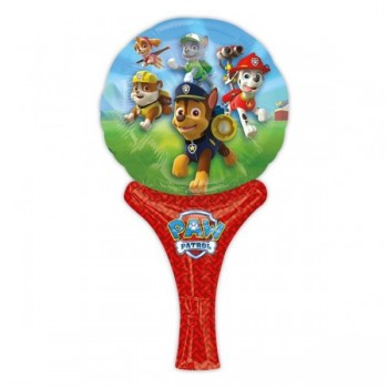 Globo Auto-inflable Pequeño Patrulla Canina (1 ud)