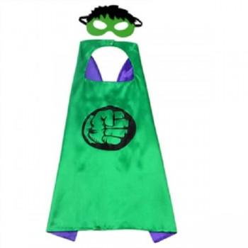Capa Hulk Con Antifaz (1 ud)