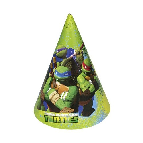 Gorros Tortugas Ninja (6 uds)