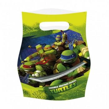 Bolsas Tortugas Ninja (6 uds)