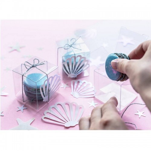 Cajitas cubos transparentes (10 uds)