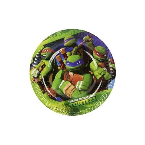 Platos 18cm Tortugas Ninja (8 uds)