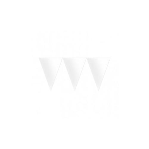 Banderín Color Blanco