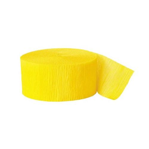 Cinta decorativa Amarilla (1ud)