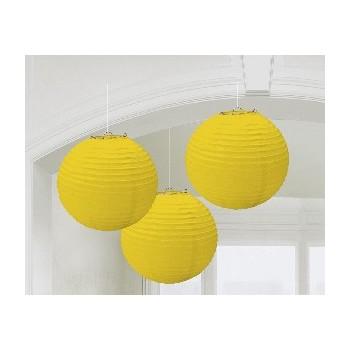 Linternas Amarillas (3uds)