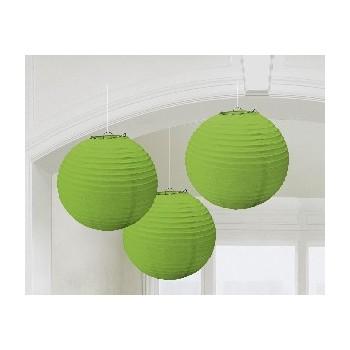 Linternas Verde (3uds)