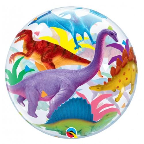 Globo burbuja Dinosaurio (1 ud)