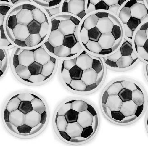 Cañon confeti balones de fútbol  (1 ud)