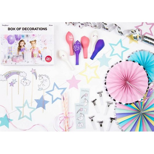 Unicornio Kit Party