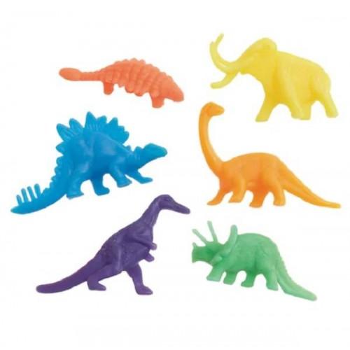 Bolsa juguetitos Dinosaurios (12 uds)